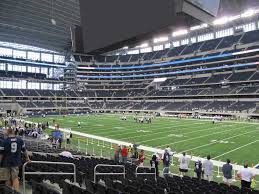 Dallas Cowboys Seating Chart With Rows Dallas Cowboys Tickets 2019 Games Buy Local At Ticketcity