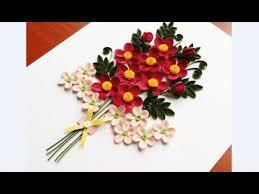 Paper Quilling Flower Bokeh Paper Quilling Flower For Beginner Learning Video 19 Paper Flower Design