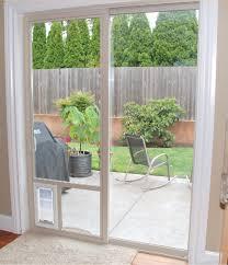 petsafe freedom aluminum patio panel sliding glass pet door in the