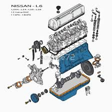 nissan l6 l20a l24 l26 l28 datsun engine exploded l series gifts nissan l6 l20a l24 l26 l28 datsun engine exploded l series gifts merchandise redbubble