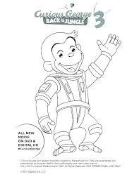 Curious George Free Coloring Pages Free Curious Coloring Pages S
