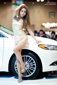 korean model park si hyun seoul motor show 2016