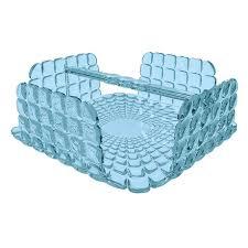 <b>Салфетница</b> квадратная <b>Tiffany</b> голубая — купить по цене 1700 ...