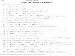 balancing chemical equations worksheet key homeschooldressage com