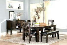 large dining room sets large dining room table ext 4 side chairs bench sets large round