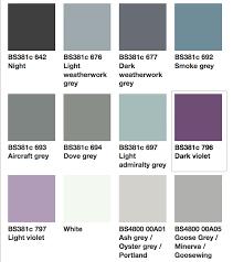 Paint Colour Chart Beyond The Van
