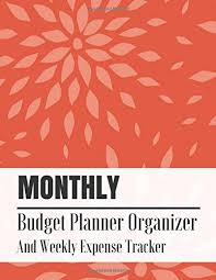 Personal Expense Tracking Ebook Pdf Monthly Budget Planner Organizer And Weekly Expense