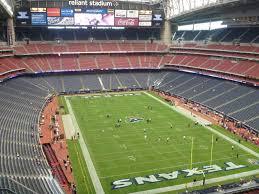 Reliant Seating Chart Texans Nrg Stadium Section 624 Row E Seat 3 Houston Texans Vs