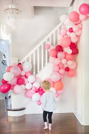 birthday party balloon arch pink balloon arch diy tutorial without