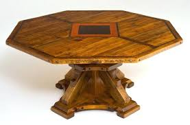 octagon kitchen table round or octagon reclaimed wood dining table rustic dining rustic round kitchen table