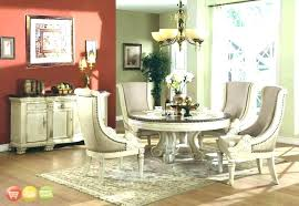 white round table and chairs dining room sets round tables white round table set antique white