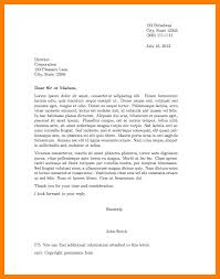 Format Of A Letter 5 Junio Relitetri
