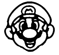 Mario Pumpkin Carving Patterns Simple Inspiration Design