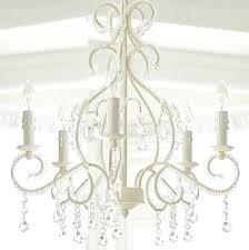 pottery barn beaded chandelier kids clear simply white francesca