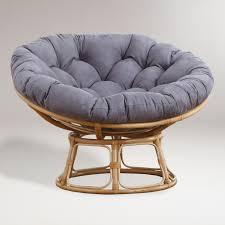 Fuzzy Papasan Chair   Pier One Papasan   Large Papasan Chair