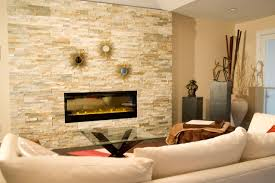 stack stone fireplace. Rustic Stacked Stone Fireplace Stack
