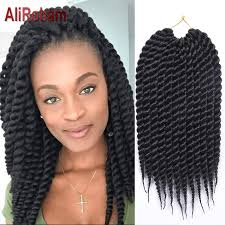 Twist Hair Style senegal twist crochet braid hair extension big curly braid twist 8424 by stevesalt.us