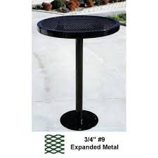 picnic tables 30 round specialty table bar height surface mount or inground
