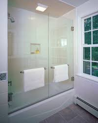 looking tub enclosures in bathroom contemporary with bathtub frameless glass doors remodel 11