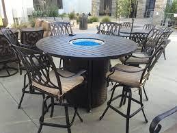 san marcos 7 piece bar height patio set