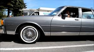 85 CHEVY CAPRICE CLASSIC WITH 35,000 KM ! - YouTube