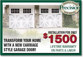 precision door service orlando new garage doors installation