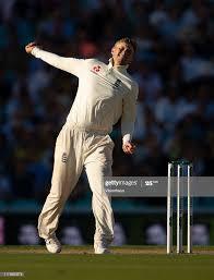 England captain Joe Root bowling during ...