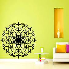 India Mandala Wall Sticker Vinyl Self ...
