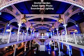 orchid garden orchid garden church street orlando wedding orlando wedding lighting soundwave