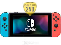 Máy Switch Red-Blue-2ND-fullBOX – xGAMESHOP-Retail Store Games