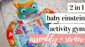 Baby Einstein Lights Melodies Discovery Center Baby Einstein 2 In 1 Lights And Sea Activity Gym And Saucer Assembly Review Kayla Buell