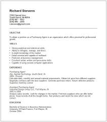 Purchasing Resume Examples Examples Of Resumes