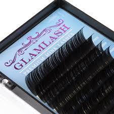 <b>GLAMLASH Wholesale</b> 16rows 7~15mm mix JBCD Curl natural ...