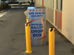 New 24 7 Drive Through Vote By Mail Drop Off Box Available
