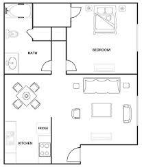 hunters point apartments floorplan 1 bedroom