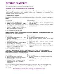 Resume Examples Varied Experience Resume Examples By Resume