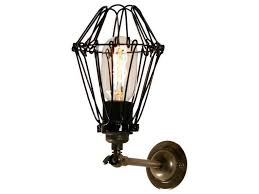 cotonou industrial cage wall light by