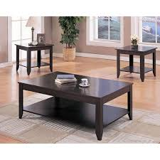 furniture coffee and end table set elegant k b furniture t84 3 piece cocktail and end