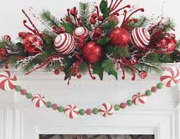 Christmas Decorations With Candy Canes Home Christmas Decoration Christmas Decoration Candy cane theme 93