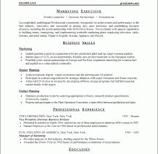 Download Standard Resume Format