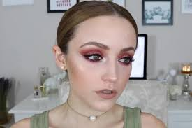 pink glitters and wing easy eye makeup for green eyes makeup tutorials guide