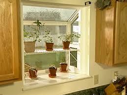 Interesting Idea Kitchen Garden Window