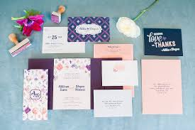 wedding invitations and paper suites by raleigh wedding photographer mikkel paige