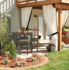 13 attractive ways to add privacy to your yard deck with lots of pictures
