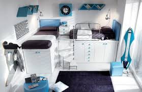 Bedroom Interesting Boy Really Cool Bedroom Decoration Using Blue