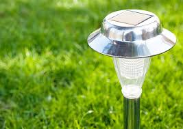 Solar Powered External Lights