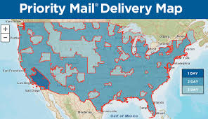 New Usps Tool Priority Mail Delivery Map Stamps Com Blog