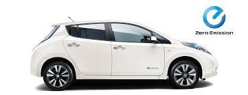 nissan uk electric cars crossover 4x4 vans nissan leaf side view