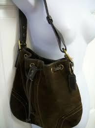 coach small leather purses