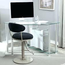 corner glass desk make the most out of every square inch a small home office with corner glass desk